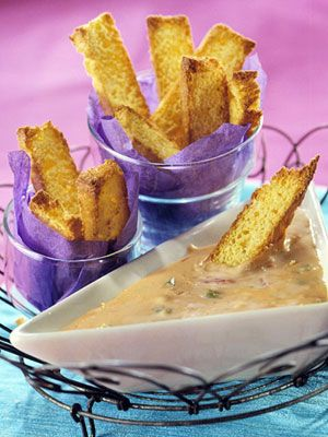 Cheesy Beer-Salsa Dip Recipe from Better Homes and Gardens.    Make this appetizer dip ahead and let it heat in your slow cooker until party time.