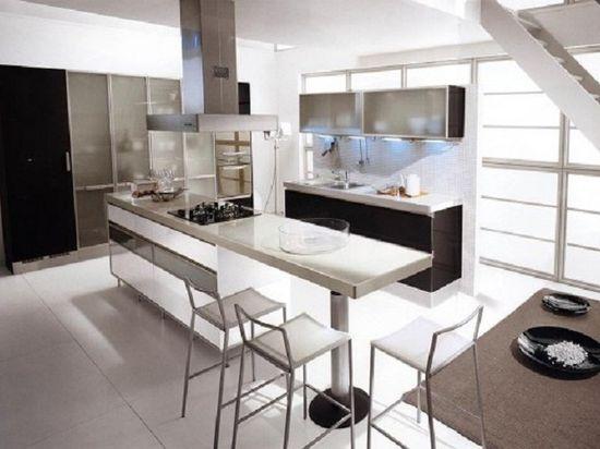 Futuristic Kitchen Design Ideas (6 pictures)