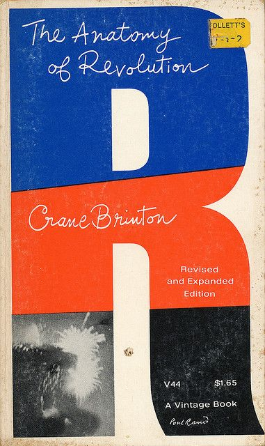 book cover by Paul Rand (1965)