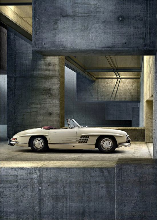 The most beautiful car ever. #MB