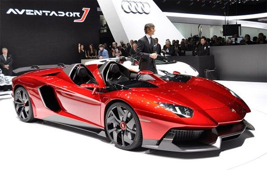 Sports cars like this Lamborghini.