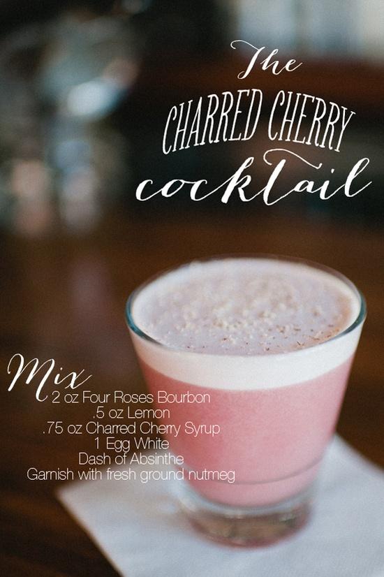 The Charred Cherry Cocktail www.celebrationsb...