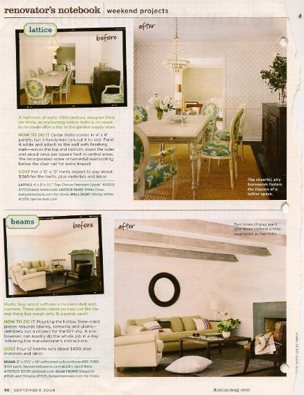 Architectural Ideas from Domino Magazine - quick projects