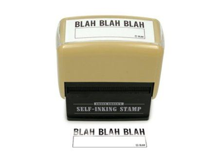 Amazon.com: Knock Knock Wtf Self-Inking Stamp, 1 Count: Health & Personal Care