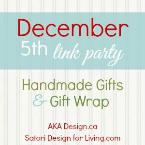 Handmade Gift and Wrap Link Party