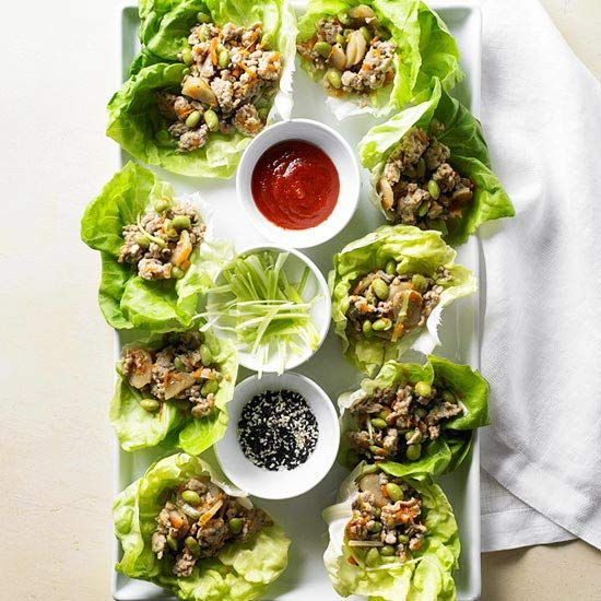 Make our delicious Asian Chicken Lettuce Wraps for dinner tonight! Recipe: www.bhg.com/...