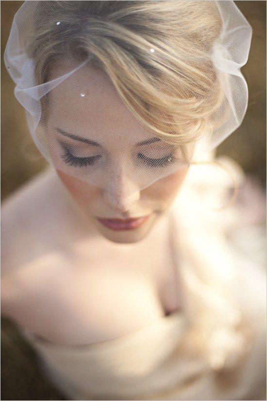 Beautiful veil.
