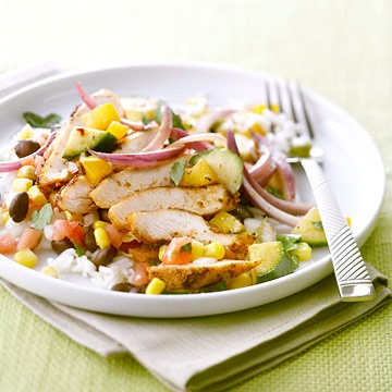 For a little Southwestern flair, try our Southwest Chicken Skillet! Get the recipe here: www.bhg.com/...