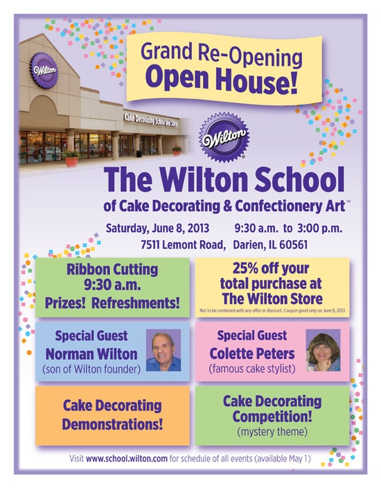 Wilton School of Cake Decorating & Confectionery Art