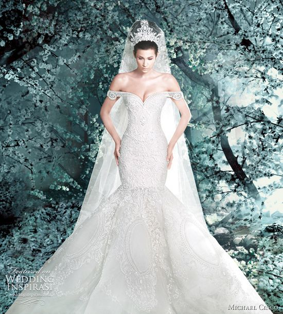 michael cinco wedding gowns 2012