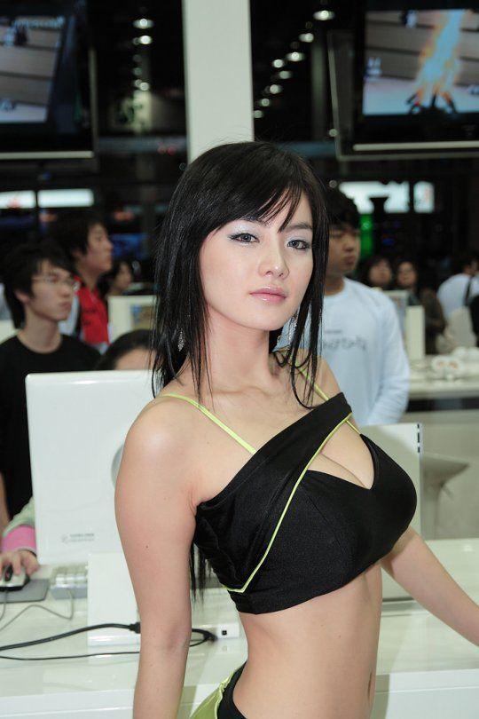 Im Ji Hye Smoking Hot Model & Race Queen
