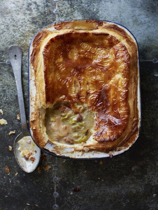 Chicken & Leek Family Pot Pie
