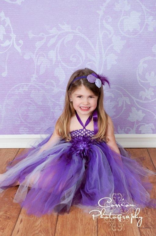 Purple tutu dress baby tutu tutu tutu halter dress by houseoftutus, $27.00
