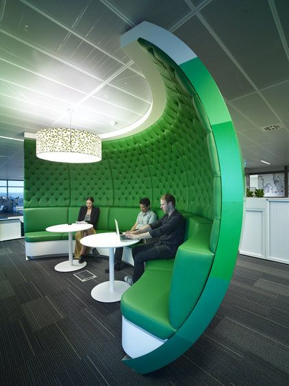 Quiet breakout work space at Lion@SOP, NSW. Designed by Project Control Group