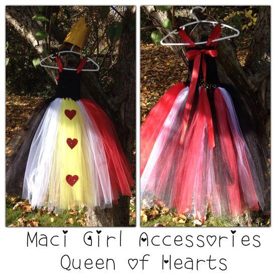 Maci Girl Accessories - Queen of Hearts