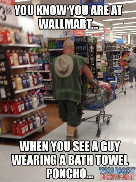 Funny People Of Walmart - Pic