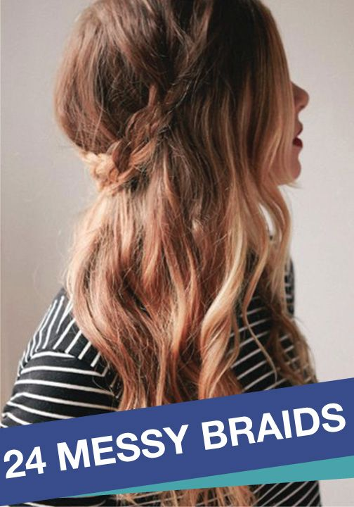 Complete your look with these braided hairstyles!