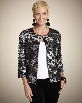 Travelers Collection Isadora Ruffle Jacket