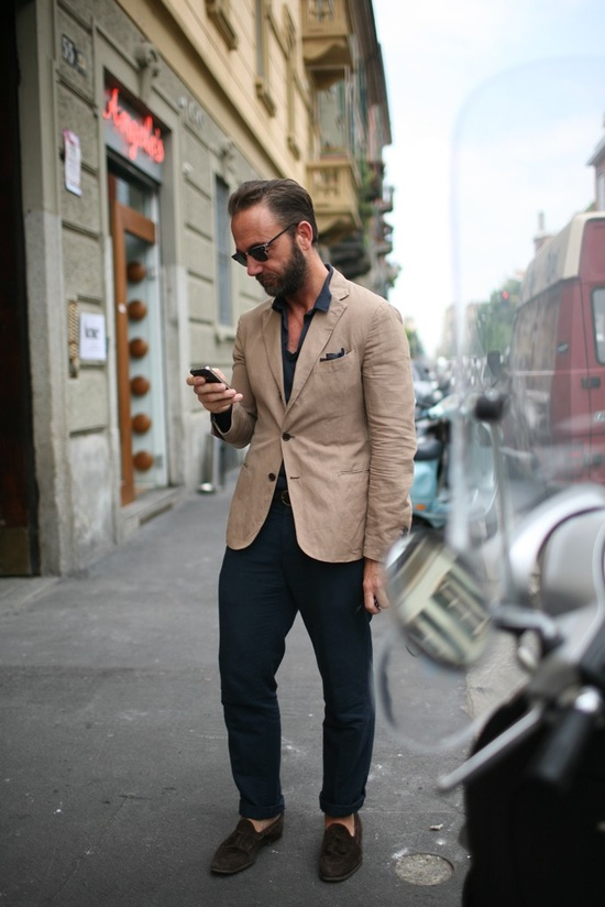 They Are Wearing: Men's Fashion Week in Milan