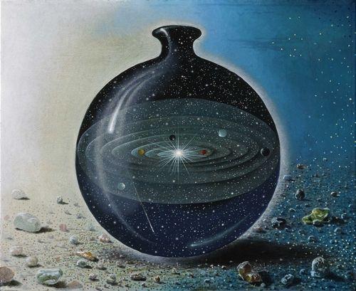 Universe in a bottle....
