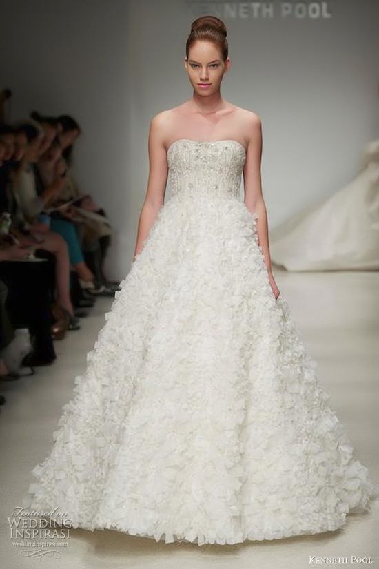 Kenneth Pool Fall 2012 bridal collection