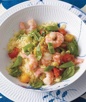 Lemony Shrimp Salad With Couscous Recipe