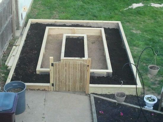 My raised bed garden :-)