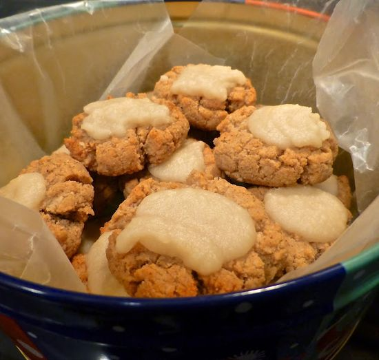 Ginger cookies with coconut cream icing Pure and Simple Nourishment