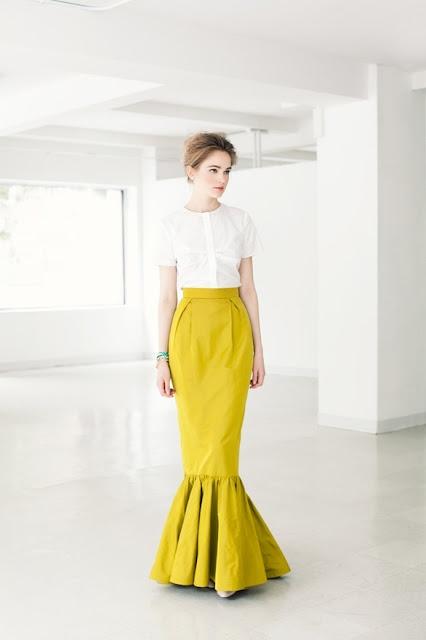 lovely full mermaid skirt