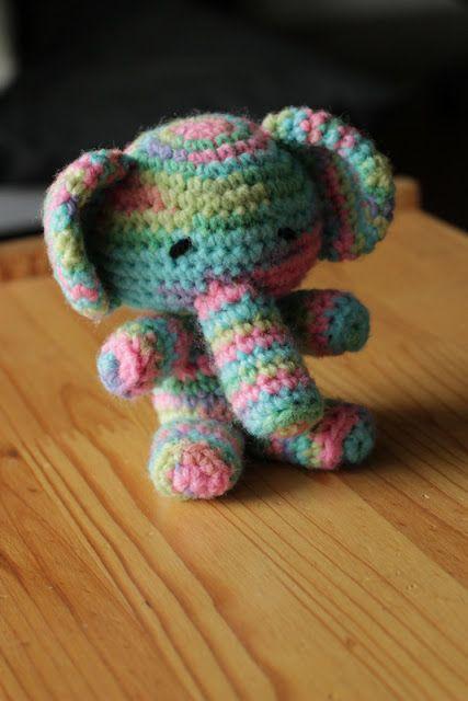 Amigurumi elephant!