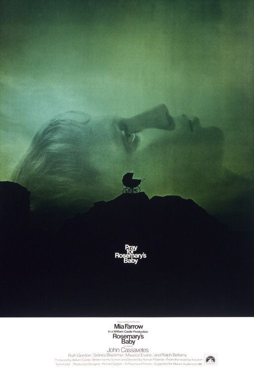 Rosemary's Baby, designed by Stephen Frankfurt and Phil Gips, 1968.