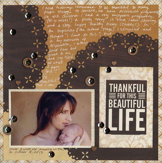 Thankful... - Scrapbook.com