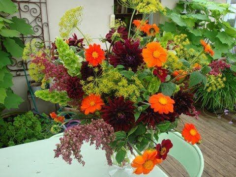 Sublime Dark Dahlia Flower Arrangement