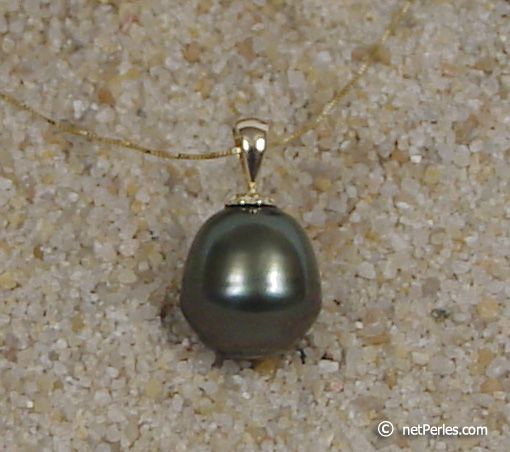 Pendentif perle de c