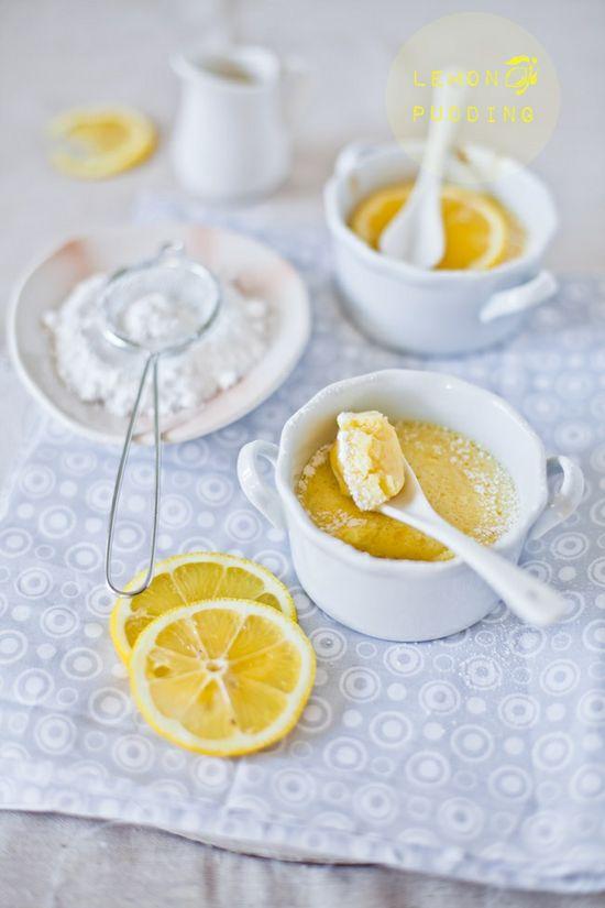 Lemon Pudding @Sunshine and Smile