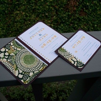 wedding invites...