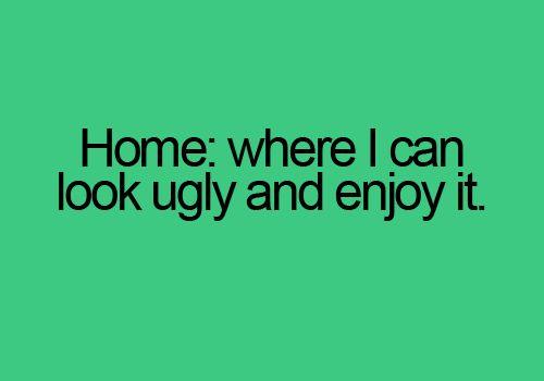 Home sweet home.