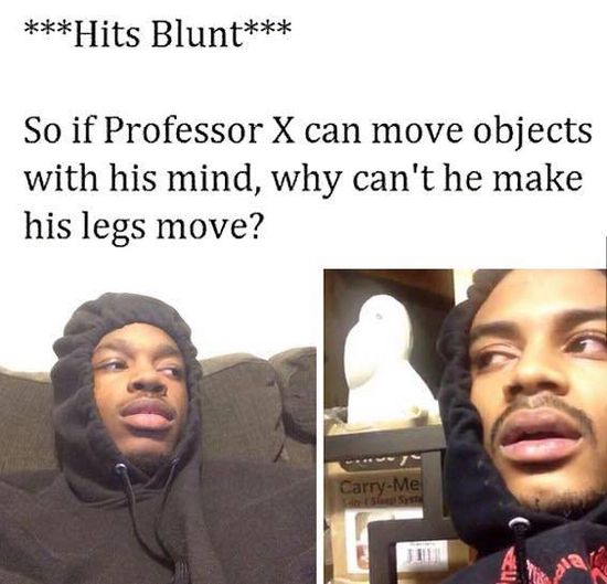 Hits Blunt Meme Picture