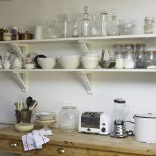 kitchen open shelving ideas - Google Search
