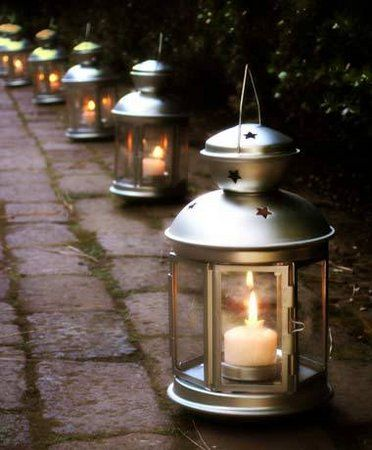 Reception, Ceremony, Wedding, Candle, Lanterns, Decorations, Lights - Project Wedding