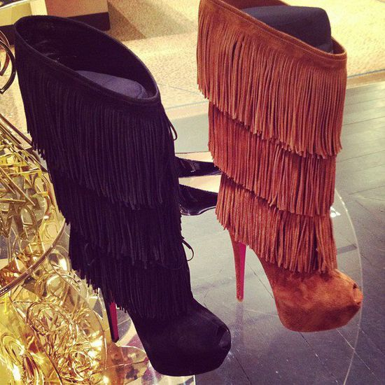 Popular Boots For Season Fall/Winter 2012/2013