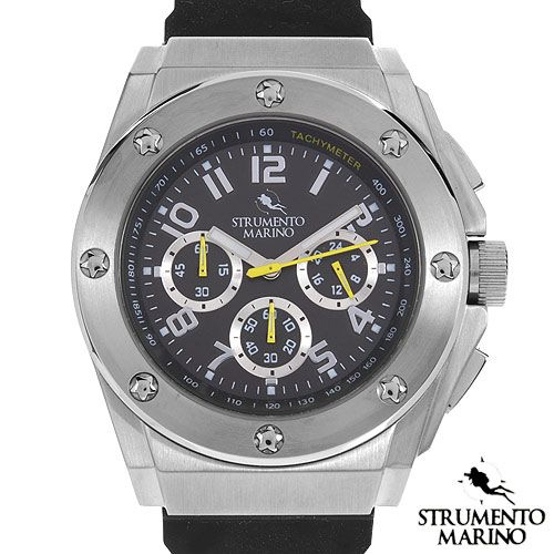 STRUMENTO MARINO SM055RSS/BK Chronograph Men's Watch