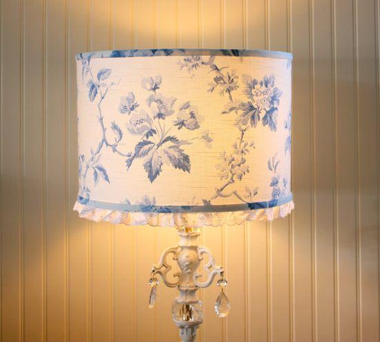Lampshades  Sweet cottage decor!