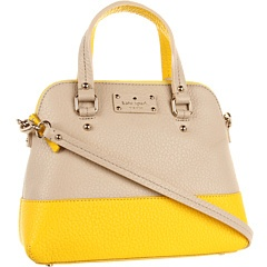 Kate Spade New York Grove Court Maise Seed Pearl/Donovan Yellow - Zappos Couture Grove Court Maise by Kate Spade New York at Couture.Zappos.com - FREE Shipping. Read Kate Spade New York Grove Court Maise product reviews, or select the Kate Spade New York Grove Court Maise size, width, and color of the Kate Spade New York Grove Court Maise of your choice.  Grove Court Maise, Kate Spade New York, Satchel, Womens, Womens Bags and Luggage, Couture.Zappos.com, FREE shipping