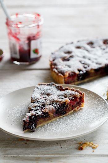 Raspberry Frangipane Tart - Simply Delicious
