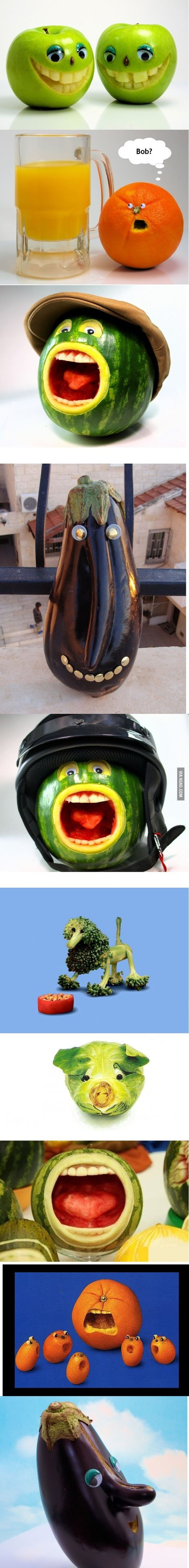 Funny Fruits and Veg