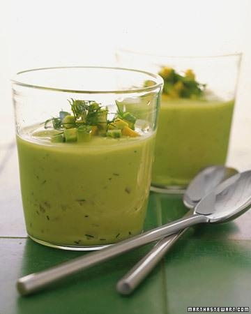 Chilled Avocado Soup Recipe