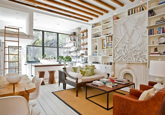 Manhattan Studio Apartment by The Brooklyn Home Company