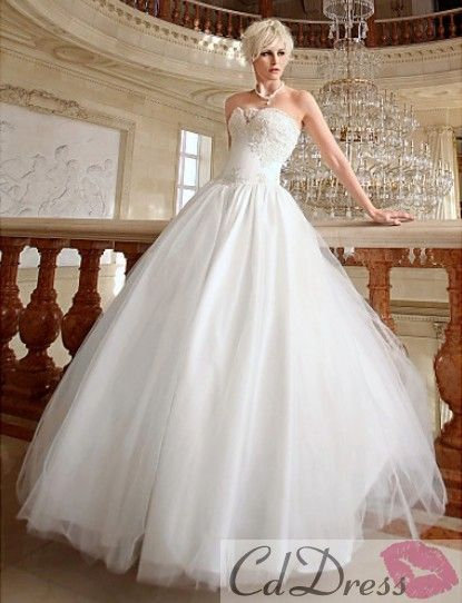 27 Trendy And Glamorous Wedding Dresses For 2013