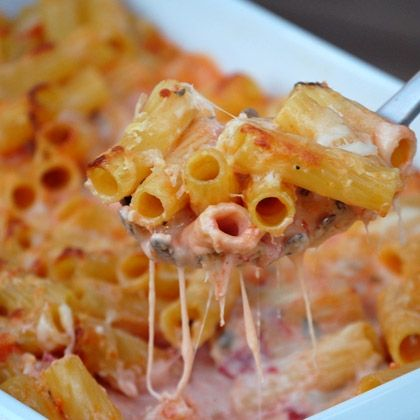 Pasta with Five Cheeses